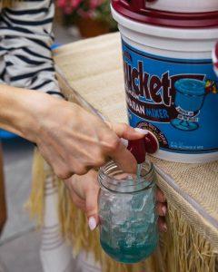Big Bucket Blue Hawaiian Mixer